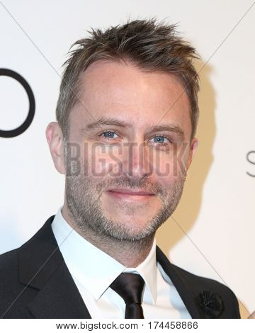 LOS ANGELES - FEB 26:  Chris Hardwick at the 25the Annual Elton John Academy Awards Viewing Party at the  City of West Hollywood Park on February 26, 2017 in West Hollywood, CA
