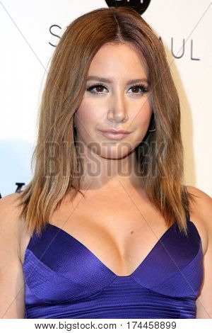 LOS ANGELES - FEB 26:  Ashley Tisdale at the 25the Annual Elton John Academy Awards Viewing Party at the  City of West Hollywood Park on February 26, 2017 in West Hollywood, CA