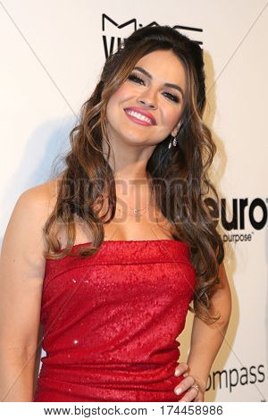LOS ANGELES - FEB 26:  Chrishell Stause at the 25the Annual Elton John Academy Awards Viewing Party at the  City of West Hollywood Park on February 26, 2017 in West Hollywood, CA