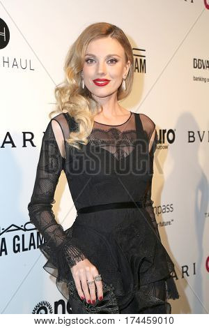 LOS ANGELES - FEB 26:  Bar Paly at the 25the Annual Elton John Academy Awards Viewing Party at the  City of West Hollywood Park on February 26, 2017 in West Hollywood, CA