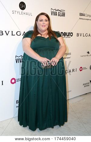 LOS ANGELES - FEB 26:  Chrissy Metz at the 25the Annual Elton John Academy Awards Viewing Party at the  City of West Hollywood Park on February 26, 2017 in West Hollywood, CA