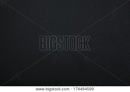Rugged black cardboard background with slate rock texture.