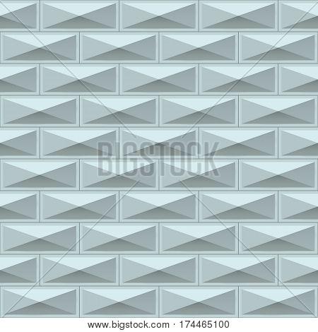 White tiles texture. Seamless pattern. Vector illustration