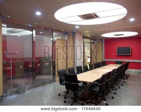 interior of a board room