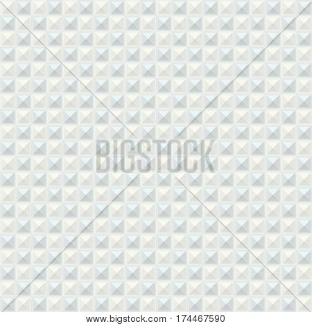 Vector background - seamless. White and gray rectangle texture.