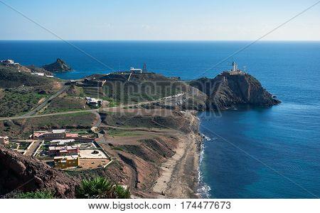 Cabo de Gata-Nijar Natural Park. South-eastern corner of Spain