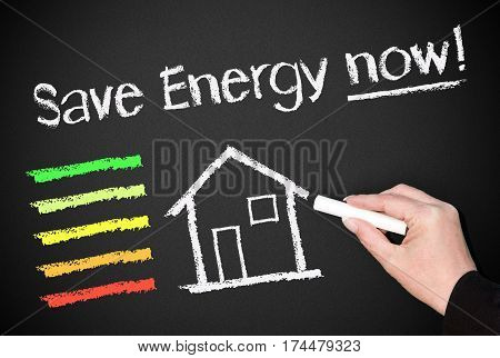 Save Energy now - house or home with energy efficiency