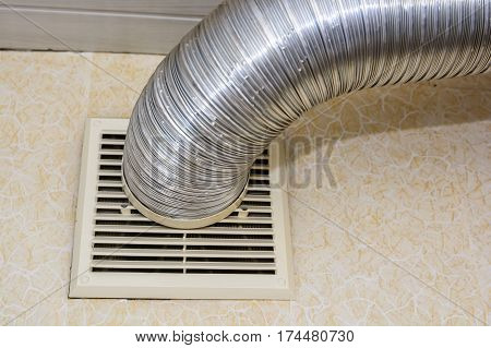 Stainless smoke exhaust tube or pipe for ventilation