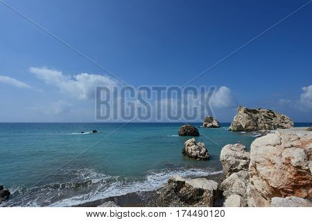 Place Of Birth Of The Goddess Aphrodite, Cyprus, Paphos
