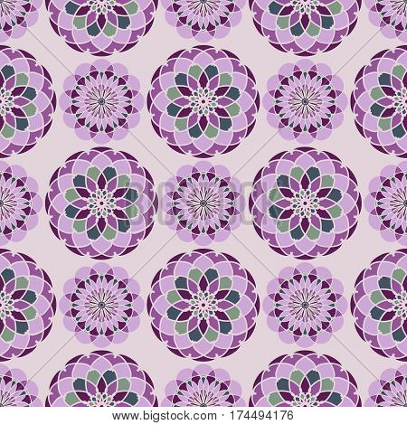 Vector seamless pattern, abstract geometric background, wrapper for a product.
