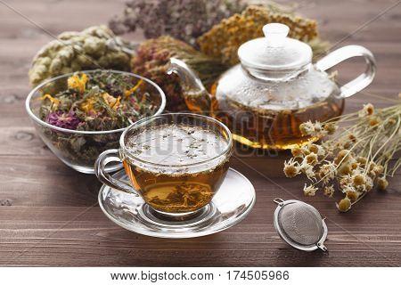 Medicinal Tea With Oregano
