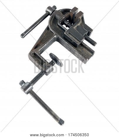 the Vise tool isolated on white background