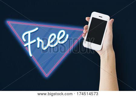 Free Freedom Liberty Triangle Graphic