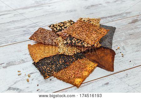 Seed Crackers Varios Kinds