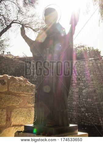 Saint Nicolas statue in Demre church Turkey