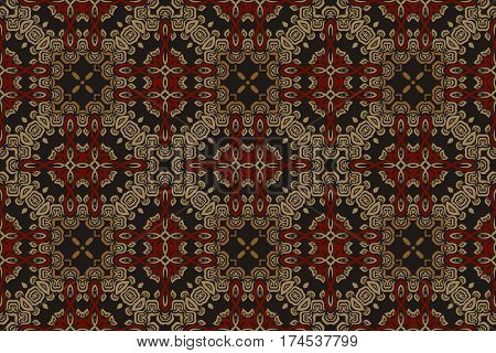 abstract background medieval symmetrical pattern baroque elements