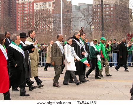 Parade Marshall Chicago Saint Patrick's Day Parade March 12th, 2011