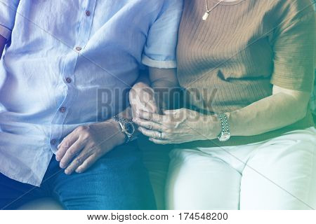 Photo Gradient Style with Family Bonding Casual Affection Relationship
