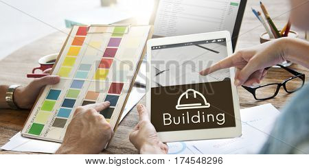 Architecture Renovation Style Design Graphic