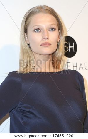 LOS ANGELES - FEB 26:  Toni Garrn at the 25the Annual Elton John Academy Awards Viewing Party at the  City of West Hollywood Park on February 26, 2017 in West Hollywood, CA