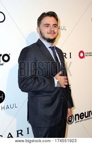 LOS ANGELES - FEB 26:  Prince Michael Jackson II at the 25the Annual Elton John Academy Awards Viewing Party at the  City of West Hollywood Park on February 26, 2017 in West Hollywood, CA