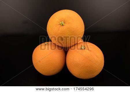 Pile Of Naval Oranges