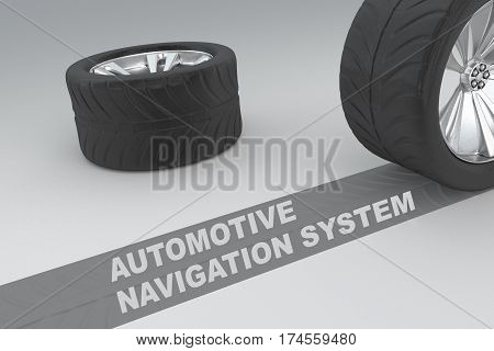 Automotive Navigation System Concept