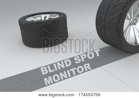 Blind Spot Monitor Safety Concept