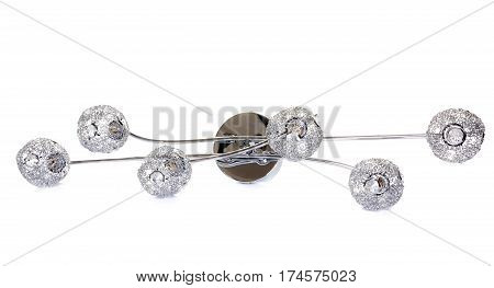 ceiling light in front of white background