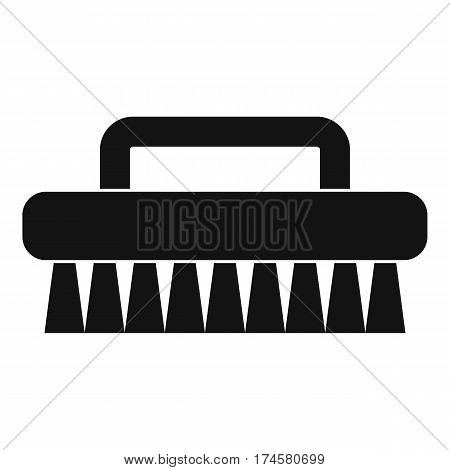 Cleaning brush icon. Simple illustration of cleaning brush vector icon for web