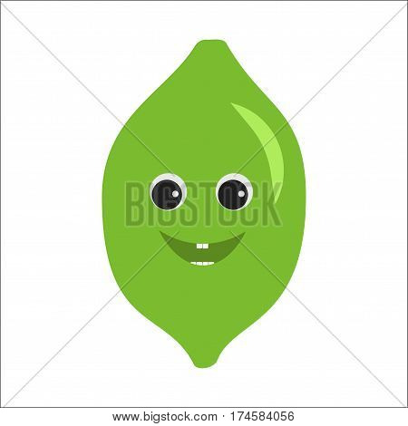 Lime Character Icon