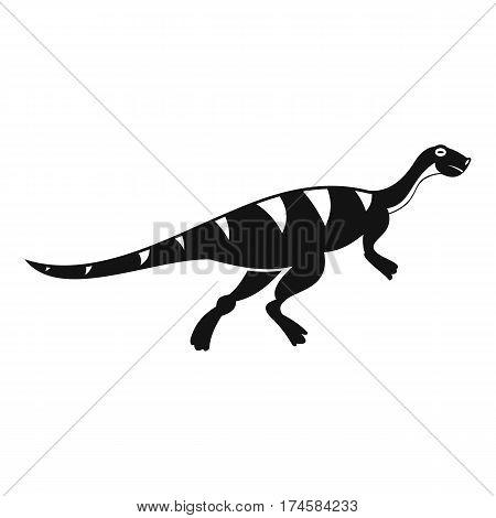 Gallimimus dinosaur icon. Simple illustration of gallimimus dinosaur vector icon for web