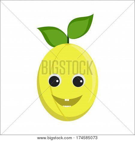 Plum Character Icon