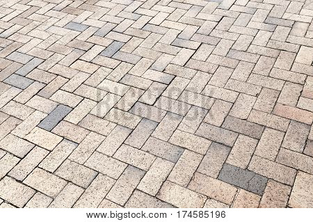 Yellow Gray Cobblestone Pavement, Texture