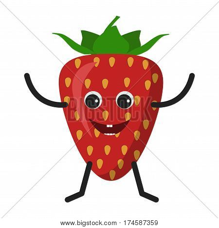 Strawberry Character Icon
