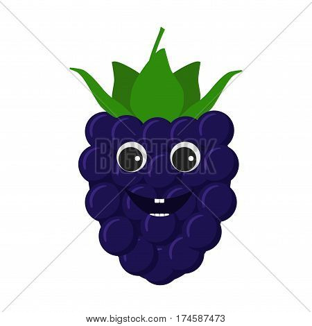 Blackberry Character Icon