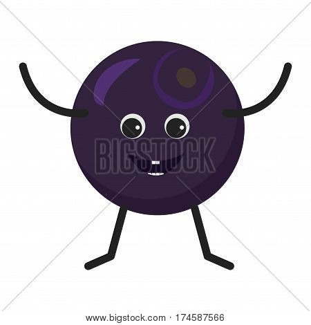 Blueberry Character Icon