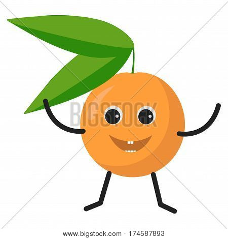 Orange Character Icon