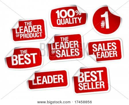 Set of stickers for best sales