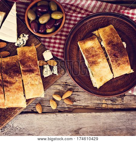 Strudel With Cheese
