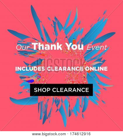 Sale Web Banners Template For Special Offers Advertisement