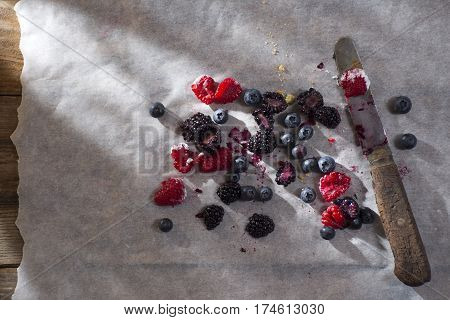 Berries Cut Above The Card