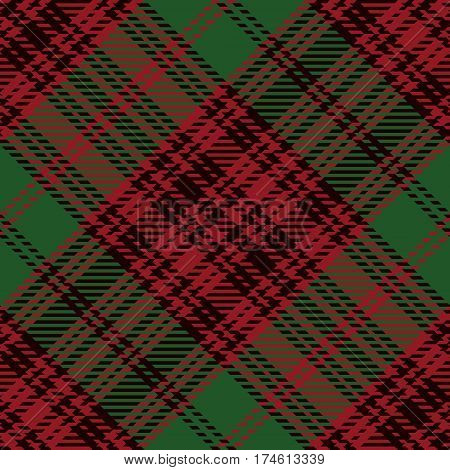 Tartan Seamless Pattern Background. Red Black and Green Plaid Tartan Flannel Shirt Patterns. Trendy Tiles Vector Illustration for Wallpapers.