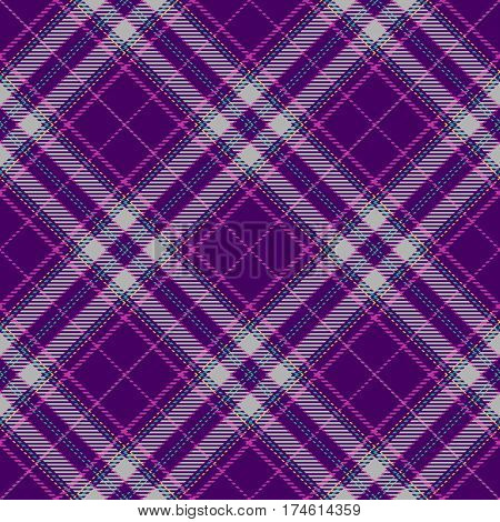 Tartan Seamless Pattern Background. Purple Green Yellow and Gray Plaid Tartan Flannel Shirt Patterns. Trendy Tiles Vector Illustration for Wallpapers.