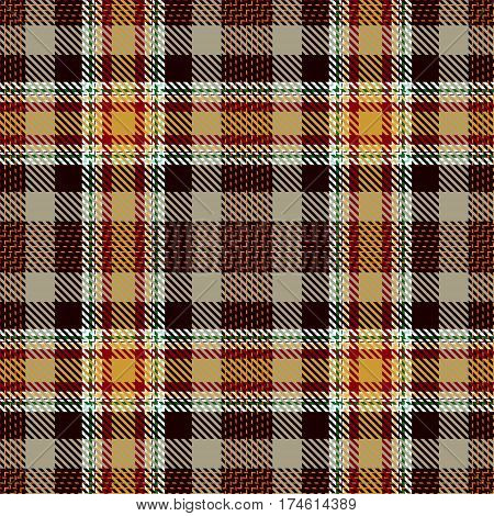 Tartan Seamless Pattern Background. Red Black Green Yellow and White Plaid Tartan Flannel Shirt Patterns. Trendy Tiles Vector Illustration for Wallpapers.
