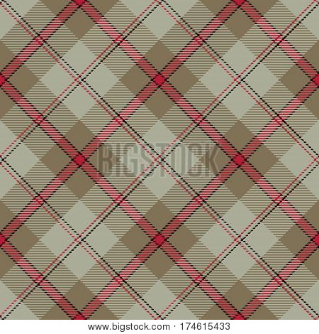 Tartan Seamless Pattern Background. Red Black Beige and Brown Plaid Tartan Flannel Shirt Patterns. Trendy Tiles Vector Illustration for Wallpapers.