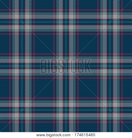 Tartan Seamless Pattern Background. Red Blue Yellow and Gray Plaid Tartan Flannel Shirt Patterns. Trendy Tiles Vector Illustration for Wallpapers.