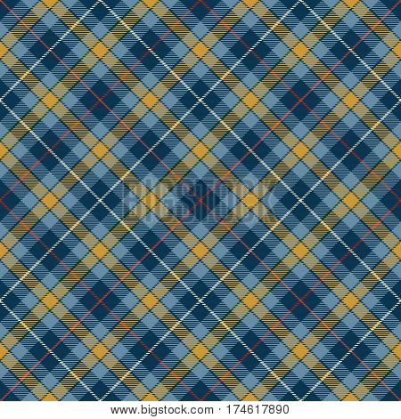 Tartan Seamless Pattern Background. Red Black Blue Gold and White Plaid Tartan Flannel Shirt Patterns. Trendy Tiles Vector Illustration for Wallpapers.