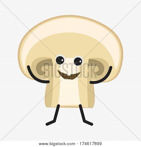 Mushroom Character Icon