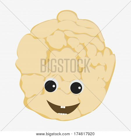 Cauliflower Character Icon
